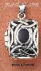 Sterling Silver OPEN FILIGREE CELTIC DESIGN RECTANGULAR LOCKET W