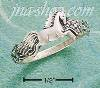 Sterling Silver SMALL GALLOPING HORSE RING SIZES 4-8