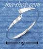 Sterling Silver Wave CenterTwist Ring size 7
