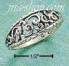 Sterling Silver ANTIQUED OPEN LOOPS & CURVES RING SIZES 5-8