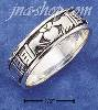 Sterling Silver UNISEX MULTI CLADDAGH BAND RING