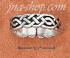 Sterling Silver CELTIC WEAVE TOE RING