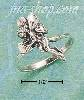 Sterling Silver FAIRY HOLDING HEART RING SIZES 5-9