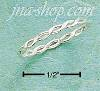 Sterling Silver SERPENTINE BAND SIZES 4-8