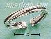 Sterling Silver TRIPLE BAND THUMB RING SIZES 5-9
