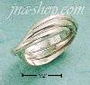 Sterling Silver 1.5MM PLAIN TRIPLE BAND SLIDE RING SIZES 3-9