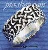 Sterling Silver MENS FANCY CELTIC BAND RING SIZES 8-13