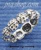 Sterling Silver ANTIQUED LADYBUG RING SIZES 5-9